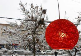 بارش سنگین برف ۲۵ بهمن در البرز