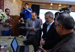 با حضور معاون مطبوعاتی وزیر فرهنگ  جشن روز خبرنگار برگزار شد