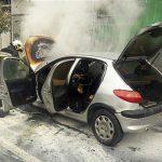 نجات جان ۴ سرنشین یک خودرو توسط مامور وظیفه شناس اشتهاردی