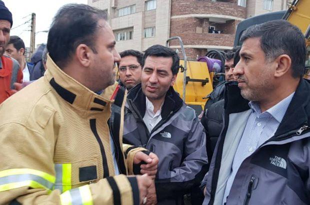 گزارش تصویری بازدید استاندار و شهردار کرج از مناطق حادثه خیز