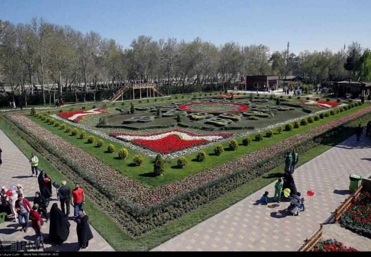 هفتمین جشنواره باغ گلها در پارک شهید چمران کرج