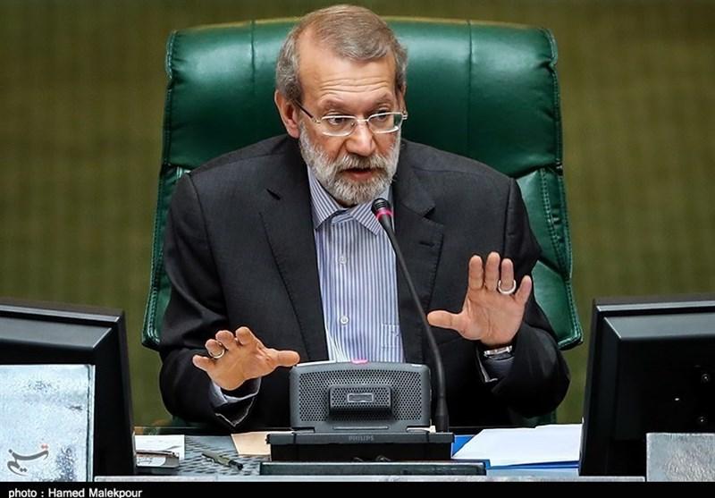 لاریجانی: برای انجام اصلاحات و ساماندهی شرایط به آرامش نیاز داریم