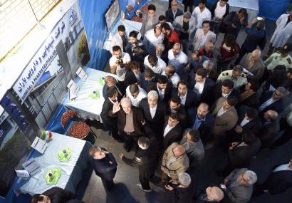 بازدید وزیر بهداشت و افتتاح چند شرکت دارویی در اشتهارد