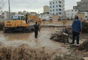 آبراهههای البرز در محاصره نخالههای ساختمانی