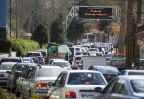 ترافیک در محور کرج – چالوس سنگین است