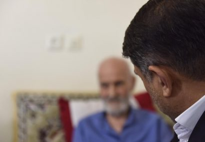 دیدار استاندار البرز با خانواده شهیدان برجسته و مشهدی دیدار