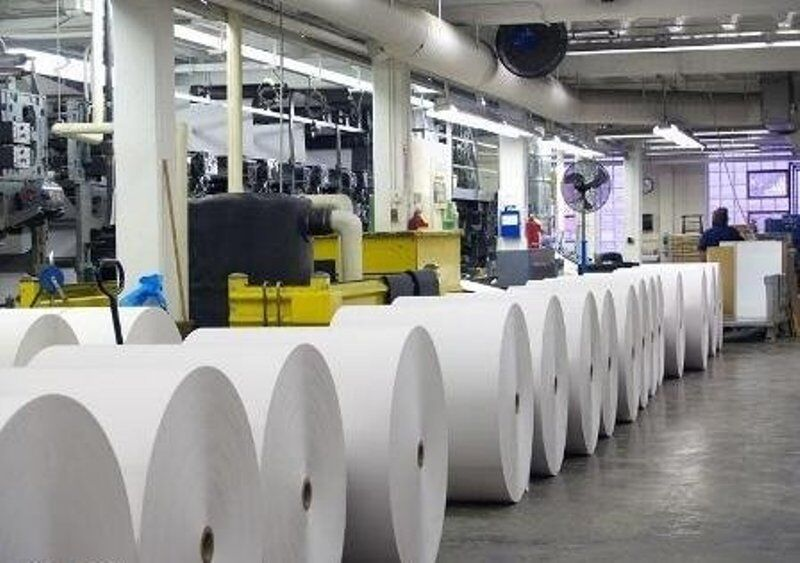 رشد ۵.۵ درصدی تولید کاغذ در دو ماه نخست امسال
