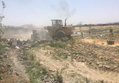 ۱۴ هکتار از اراضی کرج به عرصه کشاورزی بازگشت