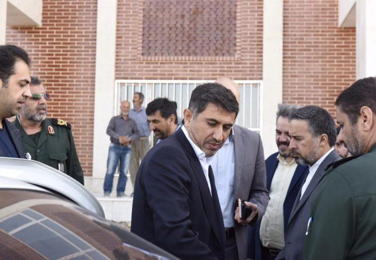 بازدید استاندار البرز از پیشرفت باغ موزه دفاع مقدس / گزارش تصویری