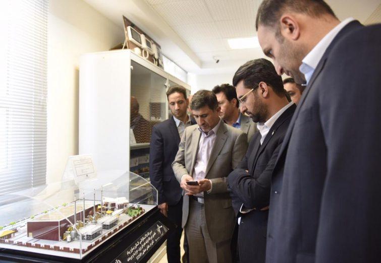 بازدید وزیر ارتباطات و فناوری از استان البرز / گزارش تصویری
