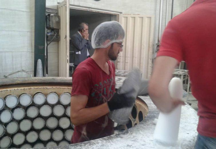 بازدید خبرنگاران از کارخانه های صنعتی البرز