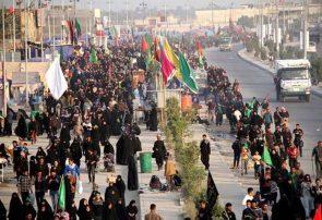 میزبانی دانش آموزان از زائران اربعین حسینی