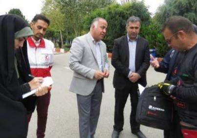 بدرقه سفیران سلامت اصفهانی توسط مسوولان فردیس و مشکین دشت