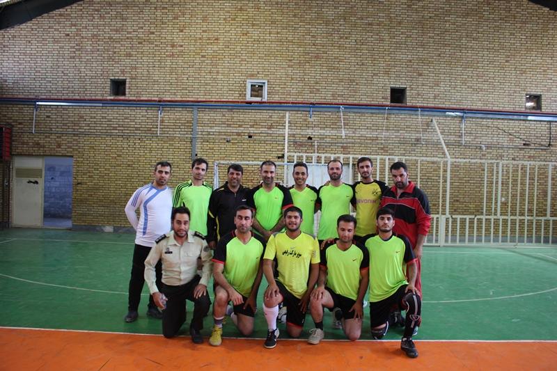 قهرمانی تیم فوتسال فرماندهی انتظامی نظرآباد در مسابقات سه جانبه اشتهارد