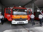 افتتاح سه ایستگاه آتش نشانی در کرج