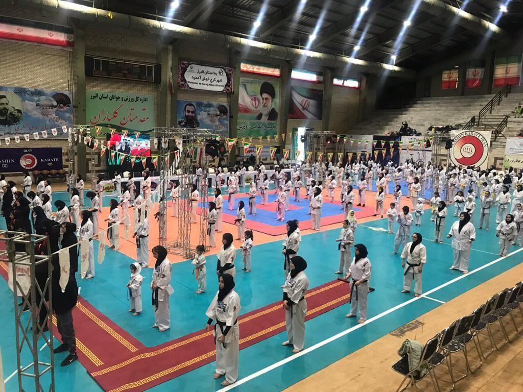 ایران قهرمان کاراته اورآسیا شد