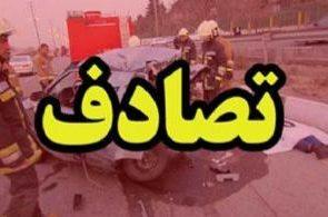 فوت عابر پیاده در اثر برخورد با خاور