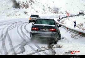 جاده کرج-چالوس به علت برف شدید بسته شد