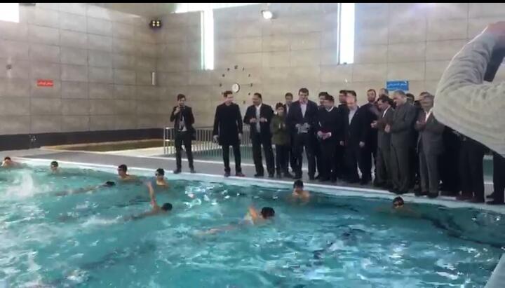 مجموعه ورزشی آفتاب در روستای گلستانک مهرشهر افتتاح شد
