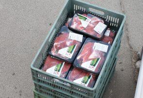 توزیع ۱۲۰۰ کیلوگرم گوشت بین نیازمندان ساوجبلاغ