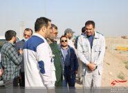 فرمانده سپاه استان البرز از مرکز دفن زباله و پسماند حلقه دره کرج بازدید کرد