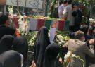 وداع با پیکر رزمنده مدافع حرم «ابراهیم اسمی» در شهرستان فردیس
