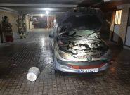 حریق یک خودرو در ساختمانی در فردیس/ سه نفر محبوس شدند
