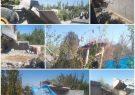 آزاد سازی۱۷ هزار مربع اراضی کشاورزی در شهرستان فردیس