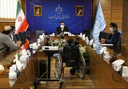 دیدار مردمی رئیس کل دادگستری استان البرز/ بررسی مشکلات ۲۴ مراجع