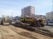 عملیات خاکبرداری خیابان سوم و چهارم بلوار ارم آغاز شد